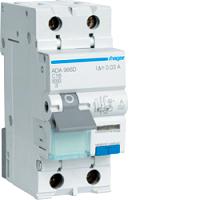 FI/LS-Schalter A 16A/1+N/C 30mA 6kAHAGER ADA966D