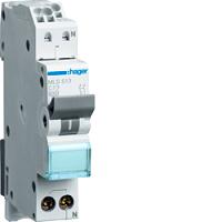 LS-Schalter 13A/1pol+N/C 6kA,1TE, QCHAGER MLS513