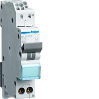 LS-Schalter 16A/1pol+N/C 6kA,1TE, QCHAGER MLS516