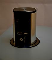 Elevator Steckdoseneinheit 1xSchuko, 2x USBBACHMANN 928 017