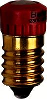 LED-Lampe E14 230V rotBERKER 167901