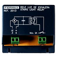 Relais mit 1 potentialfreiem Kontakt 250/12 V DC, 2A FERMAX F201