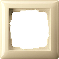 GIRA 021101 Abdeckrahmen 1-fach cremeweiß glänzend