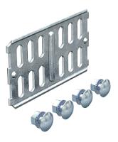 Laengsverbinder f.Kabelrinne 60x100 Stahl