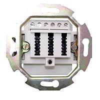 Telefondose Tdo Anschlussdose 3X10 UP RUTENBECK 10010064
