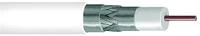 Koaxialkabel,3fach geschirmt,75Ohm,100m TRIAX KOKAF6 PLUS PVC 100
