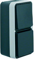 W.1 SSD+WSS Kombination senkrecht, BERKER 47803515