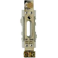 NH-Neutralleiterstütze Gr.00 200A 1P,EPM8/Sch.2,5-50mm²