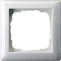 GIRA 021103 Abdeckrahmen 1-fach reinweiß glänzend