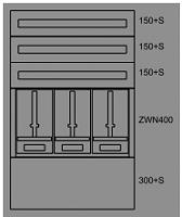 Zaehlerverteiler-Montageeinsatz NOEEATON  138042