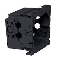Geräteeinbaudose 1-fach 71x76x51 ,PA eisengrau