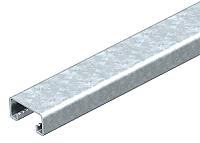 Ankerschiene ungelocht 2000x41x21 Stahl bvz