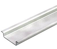 Hutschiene ungelocht 2000x35x7,5mm Stahl bvzBETTERMANN