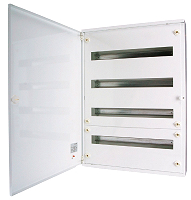 Installations-Flachverteiler AP, 4x24TE,EATON BF-O-4/96-A