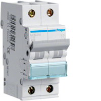 LS-Schalter 2polig, C-16A, 6kAHAGER MCN216