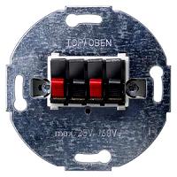 Siemens 5TG2468-2 Delta Lautsprecheranschlussdose 2fach