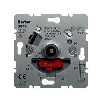 Berker 2873 Dimmer - Phasenanschnitttechnik - Drehknopf mit Soft