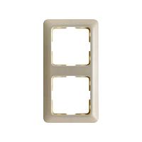 Berker 101202 2-fach Rahmen weiß nur 1 Stk lagernd