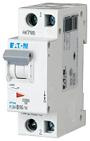 LS-Schalter 16A/1pol+N/CEATON PLSM-C16/1N