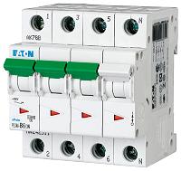 LS 6A/3-pol+N/C 10kAEATON PLSM-C6/3N