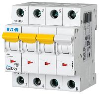 LS-Schalter 25A/3pol+N/CEATON PLSM-C25/3N