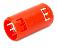 DIETZEL KM TURBO 40 OR Krallenmuffe, orange für Betonverlegung