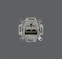 RUTENBECK N138 104 070 Anschlussdose 2-fach Up Cat6/ClassE-8/8 Up 0