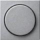 GIRA 065026 Abdeckung mit Knopf für Dimmer - alu