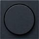 GIRA 065028 Abdeckung mit Knopf für Dimmer - anthrazit matt