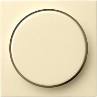 GIRA 065001 Abdeckung mit Knopf für Dimmer - cremeweiß glänzend