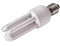 Energiesparlampe E27 230V 20W  1 Stk. Lagernd