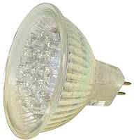LED,12V 1W GX5,3(GU5,3) UV-aktiv mit 18 superhellen Led 9 Lager